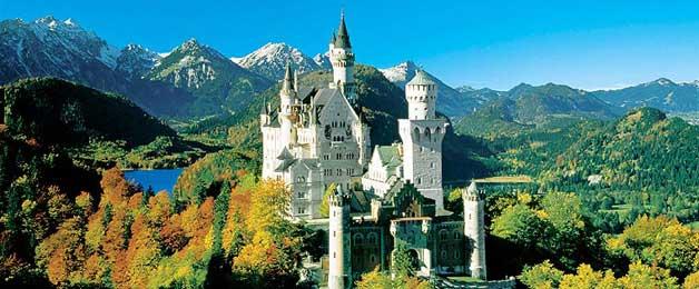 Schlösser Bayern, Gärten Bayern, Burgen Bayern, Seen Bayern