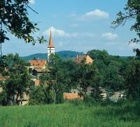 Ortschaft an der Steigerwaldhöhenstraße