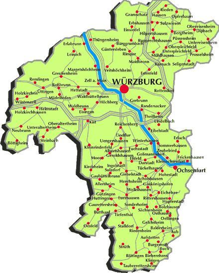 Guide To Bavaria Landkreis Wurzburg