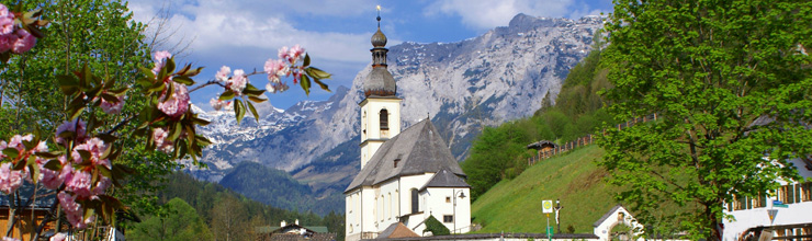 German Alpine Road: Ramsau in Berchtesgadener Land