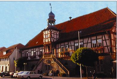 Hausfrau Ostheim vor der Rhön(Bavaria)