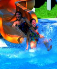 Water slide Bad Wiessee - Upper Bavaria