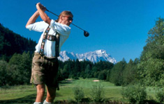 Golfing in Bavaria