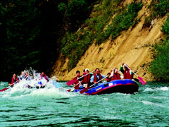 Active vacations in Bavaria - Rafting