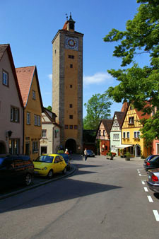 Alter Stadtturm in Rothenburg