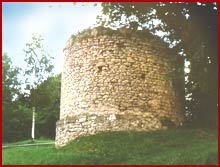 Tower ruin in Marching