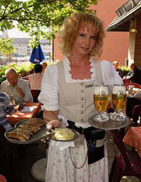 Bavarian Cusine and beer garden