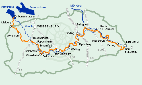 Guide To Bavaria Hiking In Bavaria Altm 252 Hltal Panoramaweg